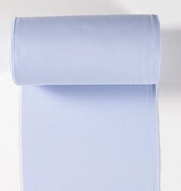 boordstof fijne rib baby blue 35cm tubular