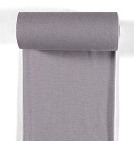 boordstof fijn gestreept grijs 35cm tubular