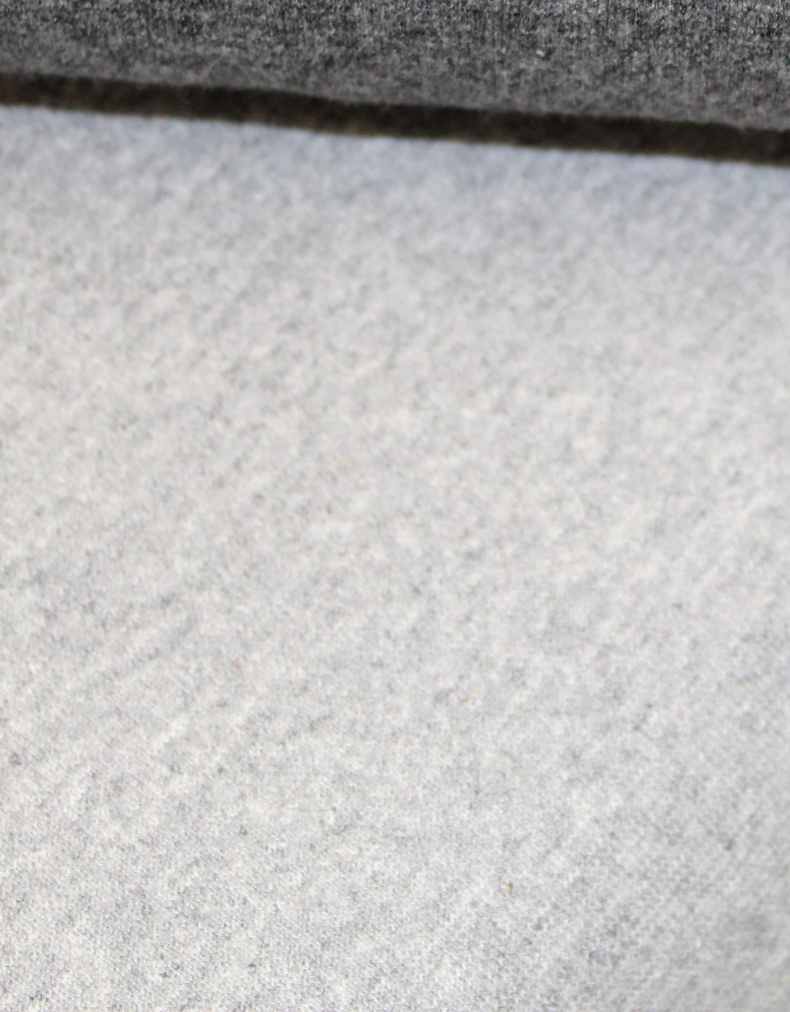Tube boordstof 35cm zacht lichtgrijs mélange