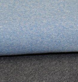 Tube boordstof 35cm blue mélange