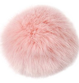 Rico Design Fake Fur pompon rose 10cm