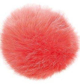 Rico Design Fake Fur pompon koraal 5cm