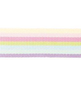 Rico Design Tassenband pastel gestreept 40mm x2m