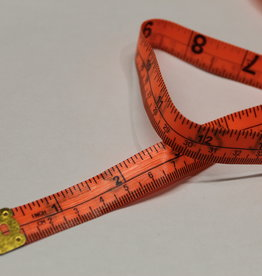lintmeter oranje inch/centimetrs 60inch/150cm