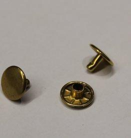 Revet goud 6mm lengte
