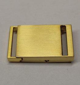 Klikgesp goud 25mm