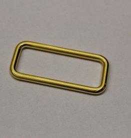 Passant 25mm goud