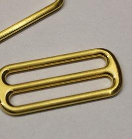 Schuifgesp 40mm goud