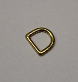 D-ring 20mm dik goud