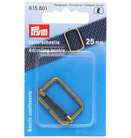 Prym Prym  - regelbare gesp 25mm oudmessing - 615 801