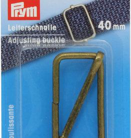 Prym Prym  - regelbare gesp 40mm oudmessing - 615 811