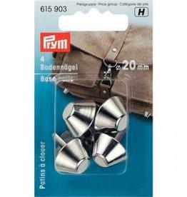 Prym Prym  - bodemnagels 20mm per 4 zilver - 615 903
