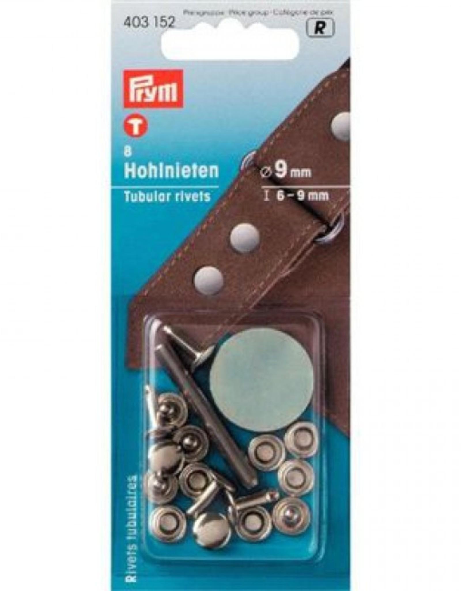 Prym Prym  - holnieten 9mm zilver - 403 152