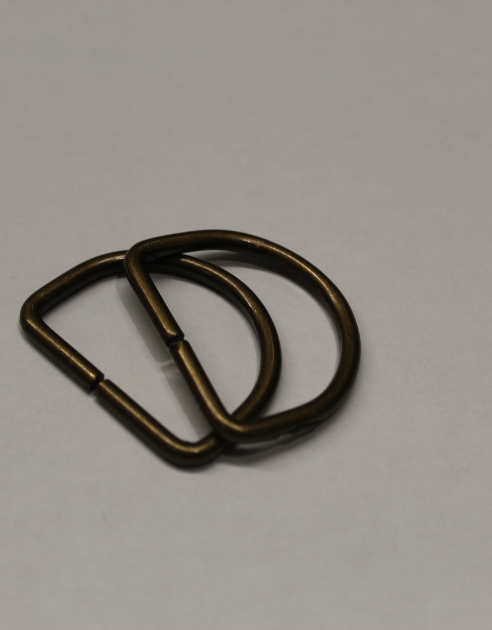 D-ring 30mm messing