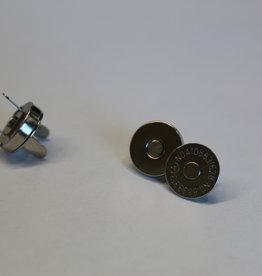 magneet 14mm zilver