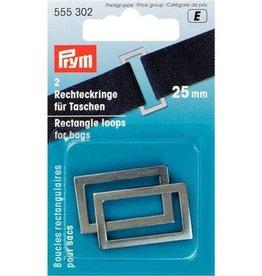 Prym Rechthoeklussen voor tassen - 25mm - 555 302