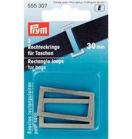 Prym Rechthoeklussen voor tassen - 30mm - 555 307