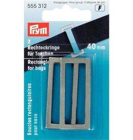 Prym Rechthoeklussen voor tassen - 40mm - 555 312