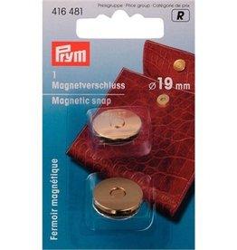 Prym Magneetsluiting goud - 19mm - 416 481