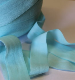 Lingerie elastiek  vouwtresse 20mm mint