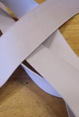 Soepele elastiek wit 30mm