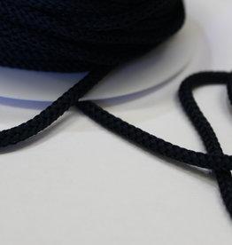 Gebreid touw 4.5mm marine