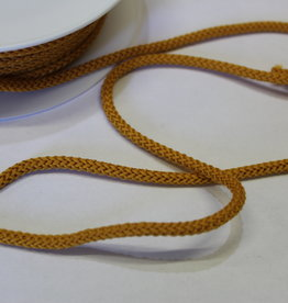 Gebreid touw 4.5mm oker
