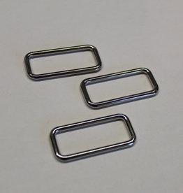 Passant 40mm zilver
