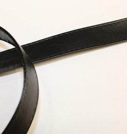 Tassenband in imitatieleder zwart 25mm