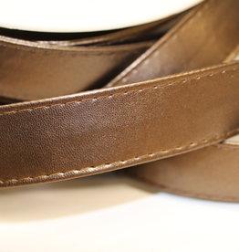 Tassenband in imitatieleder brons 25mm