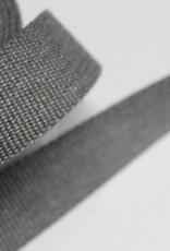 Tassenband katoen 30mm lichtgrijs gemeleerd