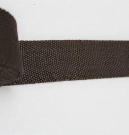 Tassenband  40mm bruin