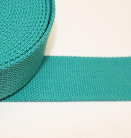 Tassenband  40mm appelblauwzeegroen