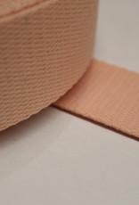 Tassenband katoen rose 40mm