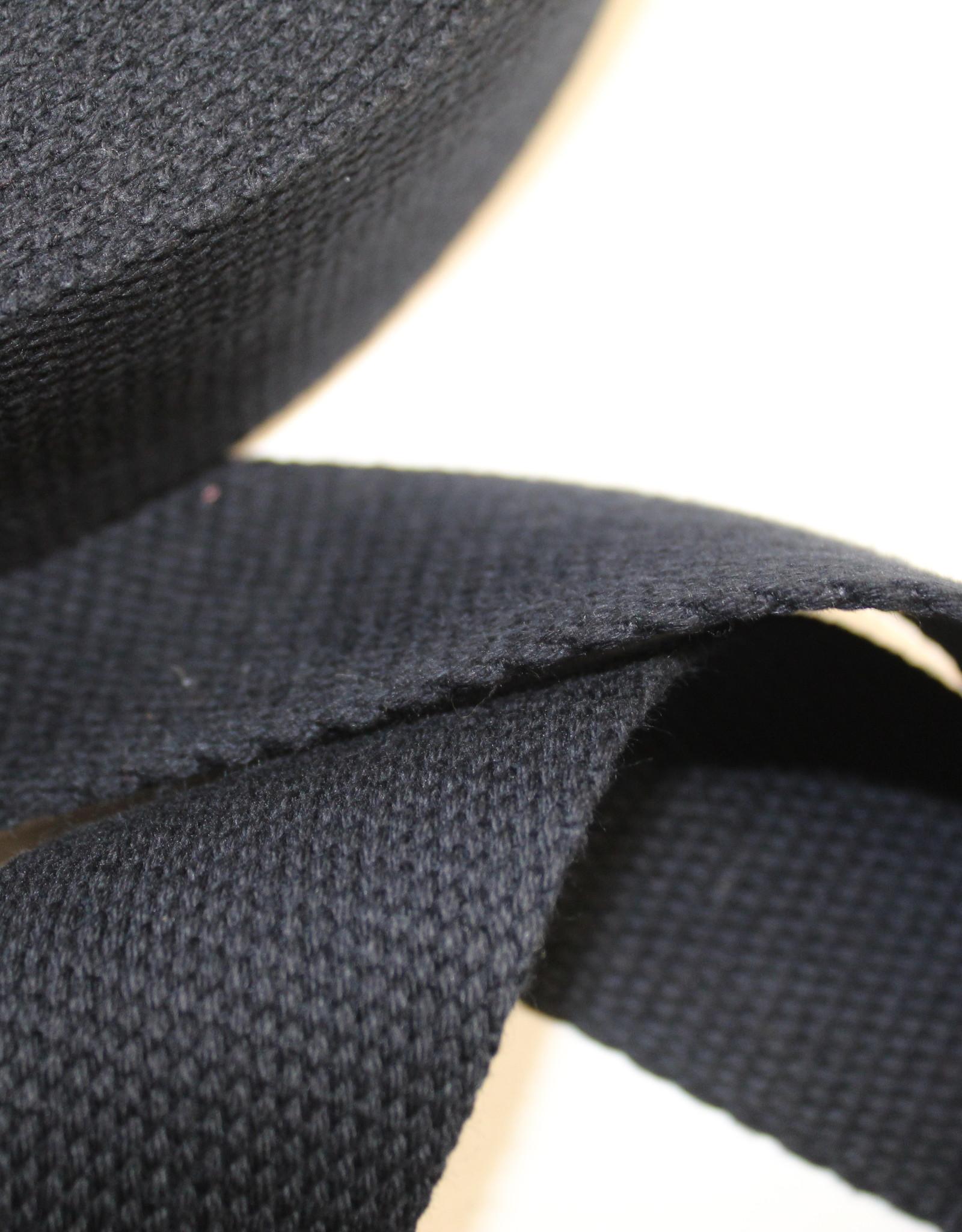 Tassenband katoen navy 40mm