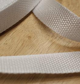 Tassenband wit 25mm