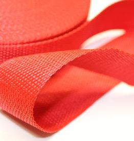 Tassenband rood 40mm