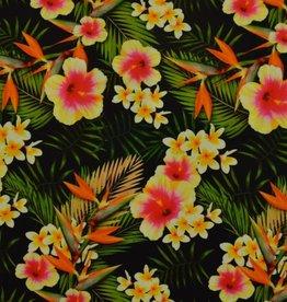 lycra Hawai print