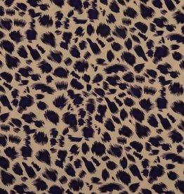 lycra leopard print
