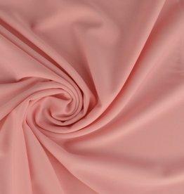 Lycra soft pink badpakkenstof