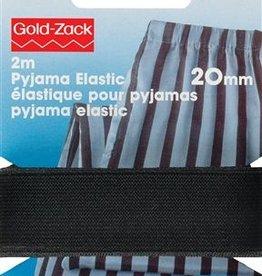 Prym Prym - pyjama elastiek zwart 20mm - 957 651