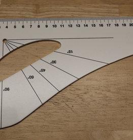 Patroonlat 60cm