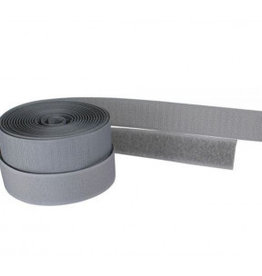Klittenband naaibare velcro 20mm grijs
