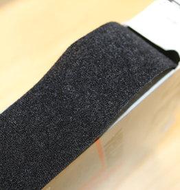 Klittenband naaibare velcro VELOURS 50mm zwart