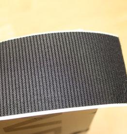 Klittenband plakbare velcro PADDENSTOEL 50mm zwart