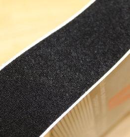 Klittenband plakbare velcro VELOUR 50mm zwart