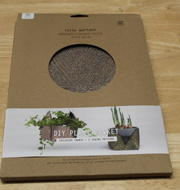 Lotte Martens DIY Plant Basket Hebe Felt