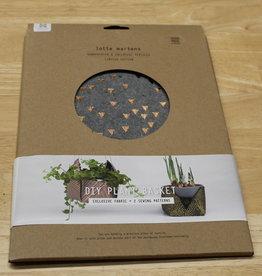 DIY Plant Basket Coreo Felt