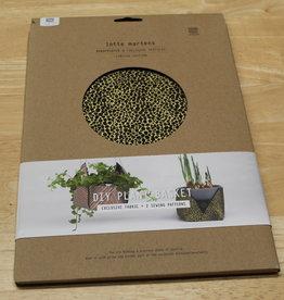 Lotte Martens DIY Plant Basket Liri Felt Black