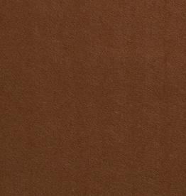 Vilt 1mm camel bruin per vel 20x30cm